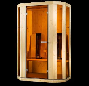 ErgoBalance2deluxe Sauna Infrarossi EffettoVita Physiotherm
