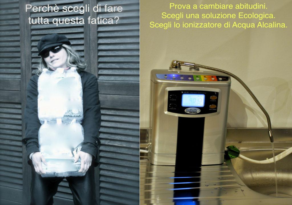 Bottle water ionizer water ionizzatore d'acqua ambiente effetto vita