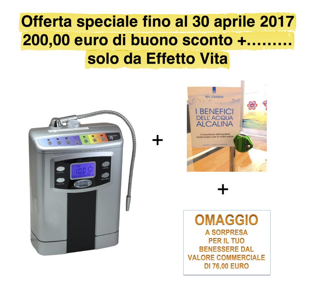 Ionizzatore Kationic in offerta speciale fino al 30 aprile 2017