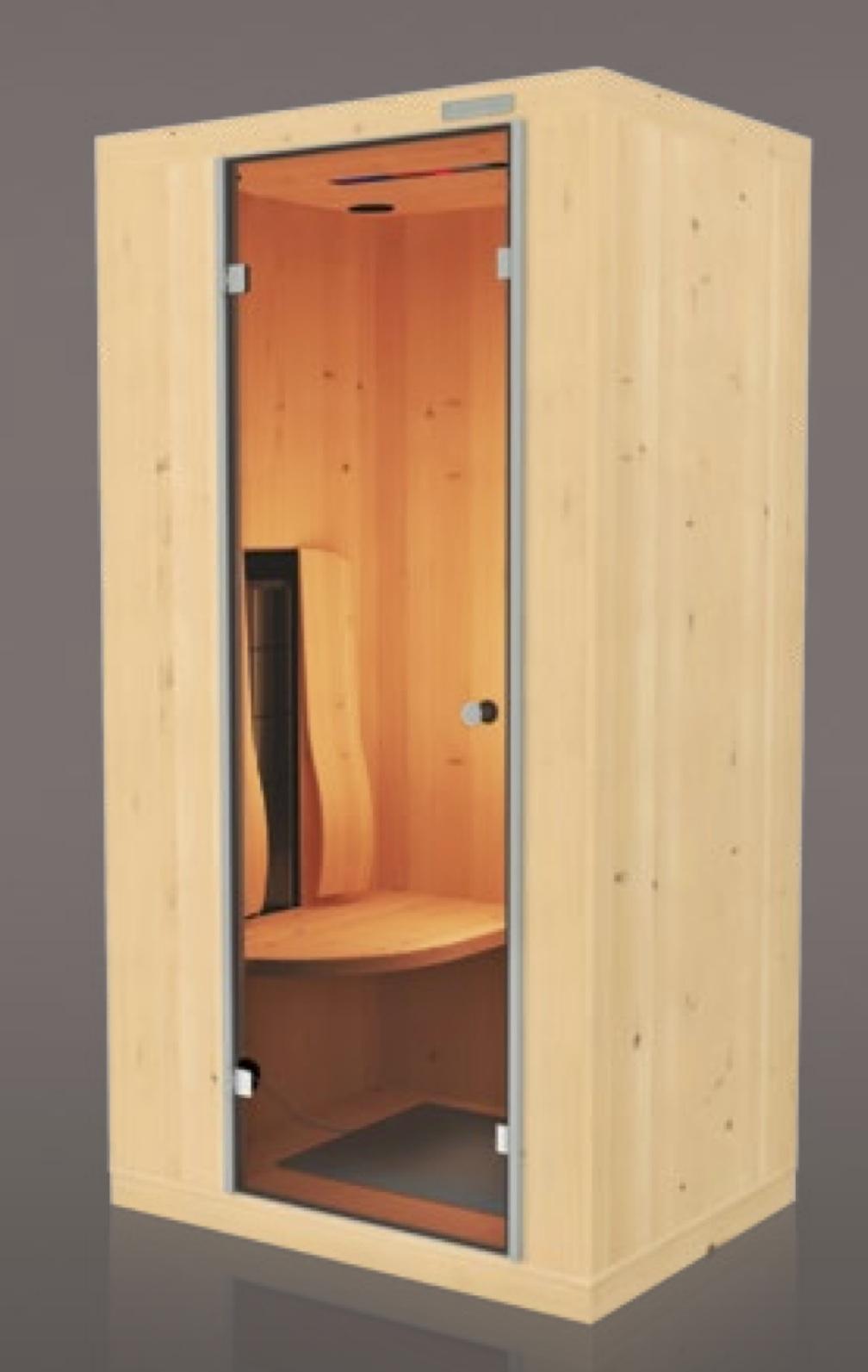 sauna infrarossi Physiotherm - effettovita idea reagalo calore lenitivo